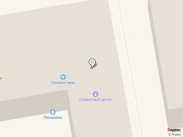 Татьяна-Люкс на карте Тамбова