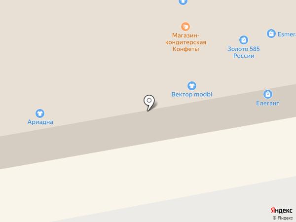 Кокетка на карте Тамбова