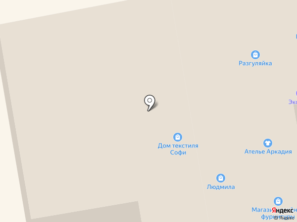 Русский стиль на карте Тамбова