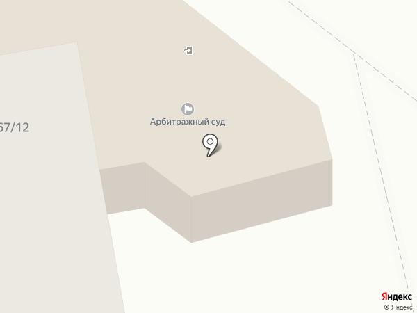 Арбитражный суд Тамбовской области на карте Тамбова