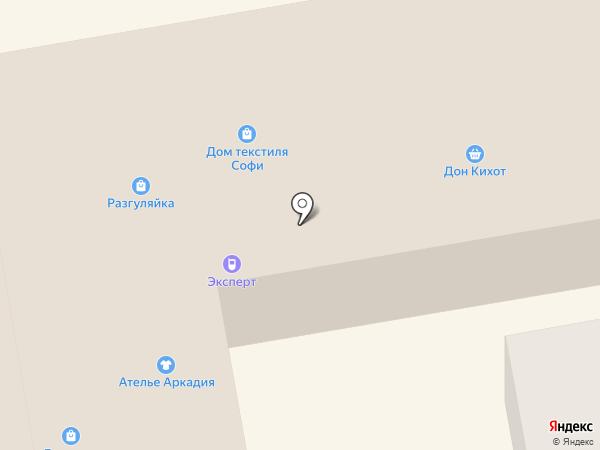 Людмила на карте Тамбова