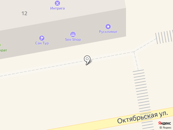 Сан Тур на карте Тамбова