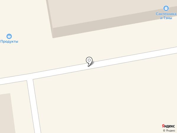 Минин на карте Тамбова