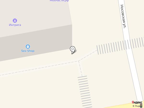 Финлайн на карте Тамбова