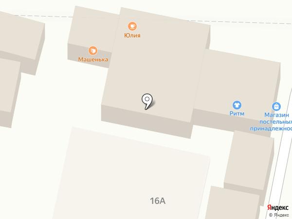 Машенька на карте Строителя