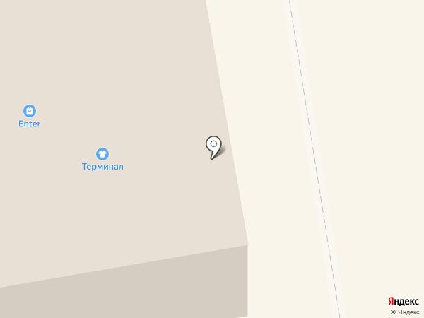 Терминал на карте Тамбова
