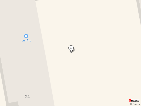 Len-art на карте Тамбова