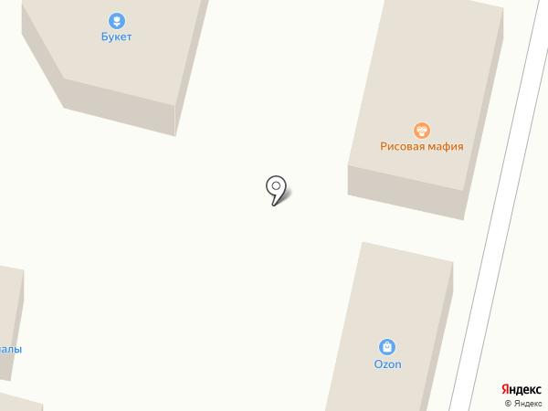 Букет на карте Строителя
