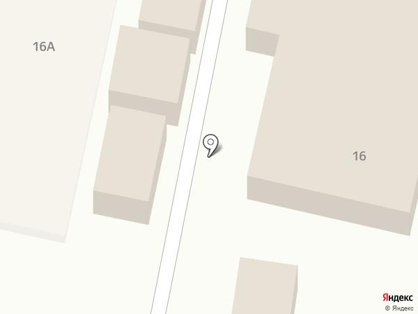 Магазин хлебобулочной продукции на карте Строителя