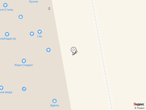 Амадео на карте Тамбова