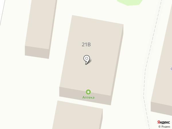 Магазин домашнего текстиля на карте Строителя