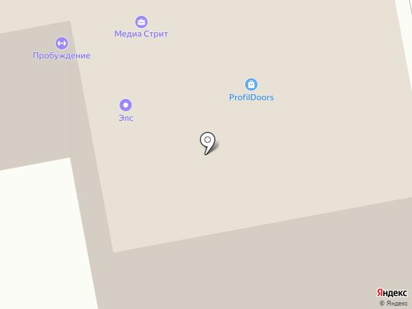 Энергострой на карте Тамбова