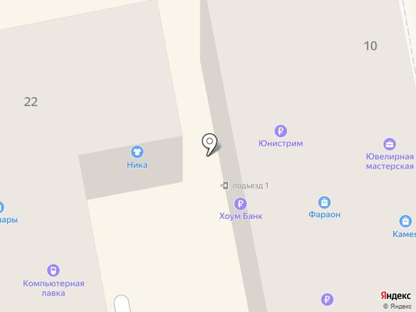 Приосколье на карте Тамбова