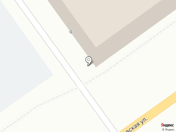 Прокат инструментов на Лермонтовской на карте Тамбова