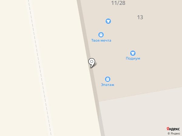 Банкомат, Росбанк, ПАО на карте Тамбова
