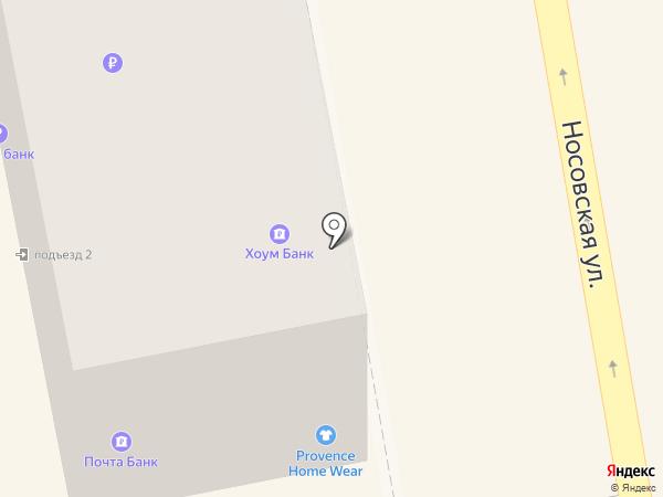 Банкомат, Банк Хоум Кредит на карте Тамбова