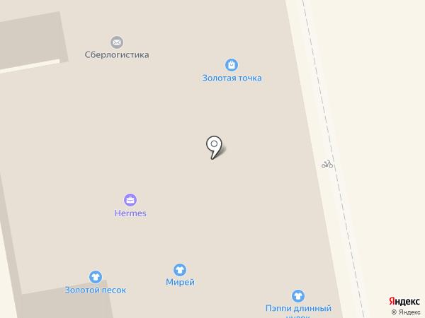 Караван на карте Тамбова