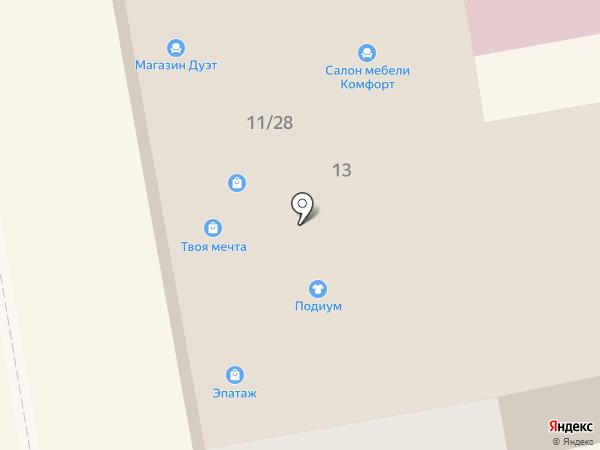 АКБ Росбанк на карте Тамбова