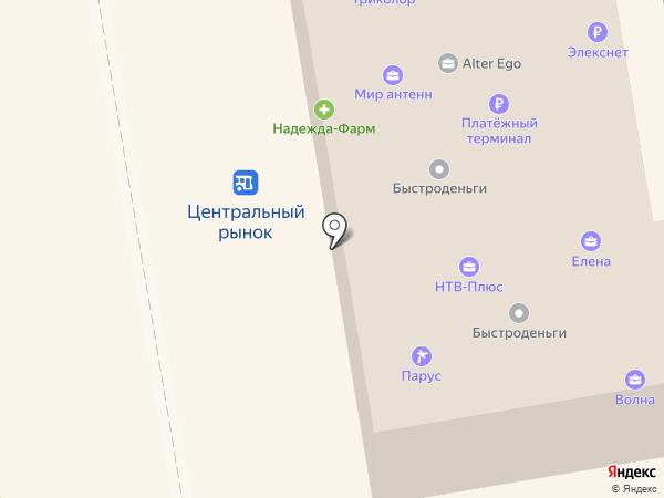 Оконщик на карте Тамбова