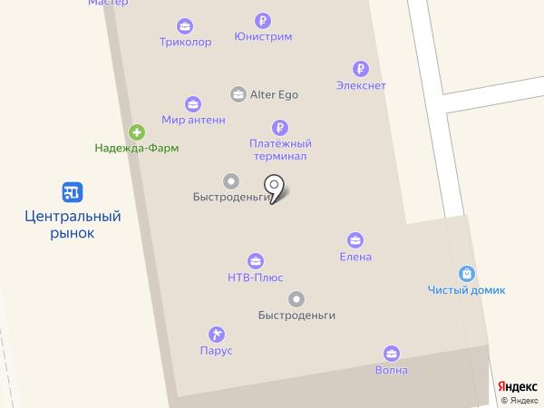 Мир антенн 68 на карте Тамбова