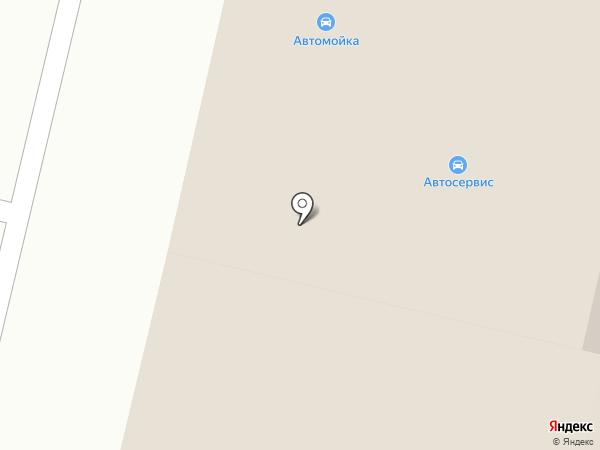 Автомойка на карте Строителя