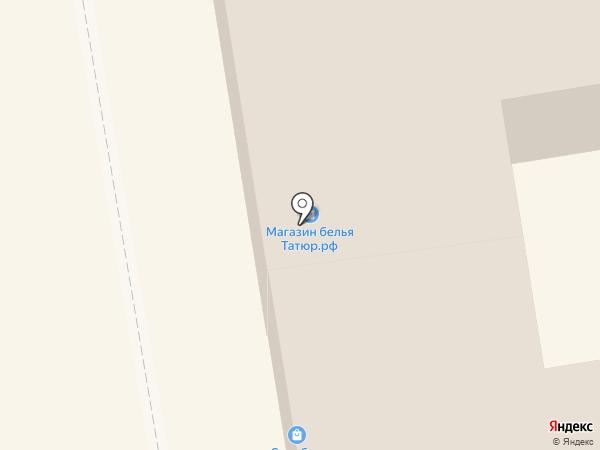 Парикмахерская №1 на карте Тамбова