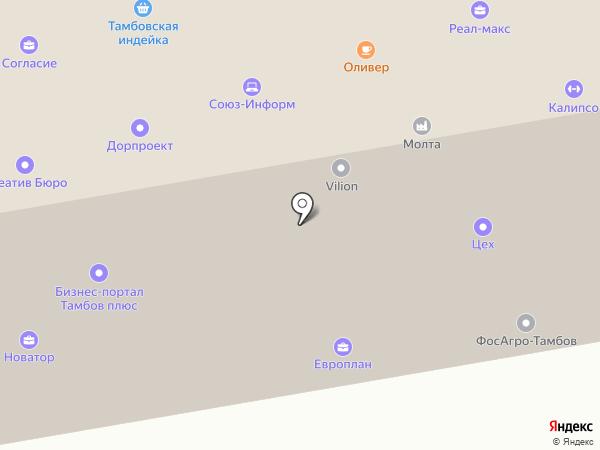 СВАРБИ на карте Тамбова