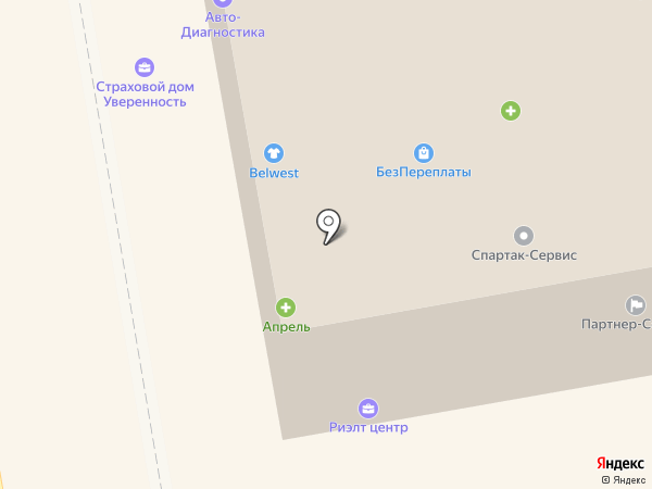 Риэлт Центр на карте Тамбова