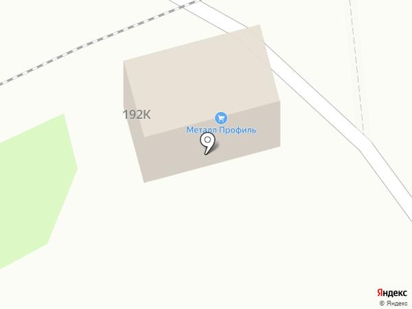 МеталлПрофиль на карте Тамбова