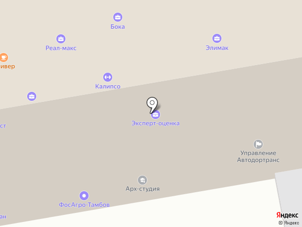 АЙТИ ЭКСПЕРТ на карте Тамбова