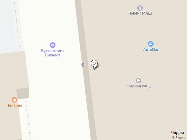 Верхне-Донское Управление на карте Тамбова