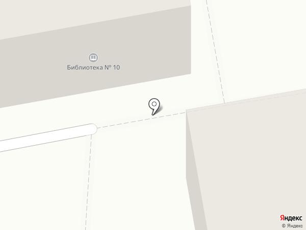 Библиотека №10 им. А.П. Гайдара на карте Тамбова