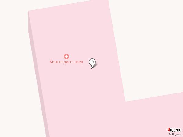 Тамбовский областной кожно-венерологический клинический диспансер на карте Тамбова