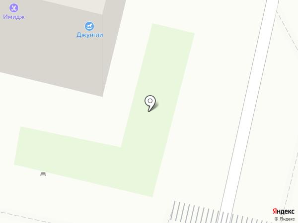 Джунгли на карте Строителя