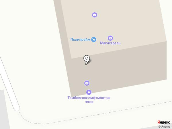 Медиа Street на карте Тамбова