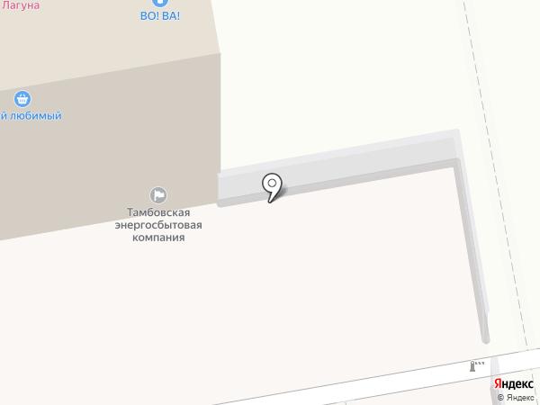Микрос Территория праздника на карте Тамбова