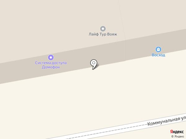 Санги Стиль на карте Тамбова