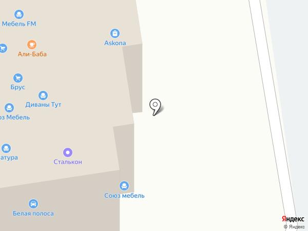 Ангстрем на карте Тамбова