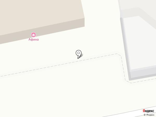 Афина на карте Тамбова