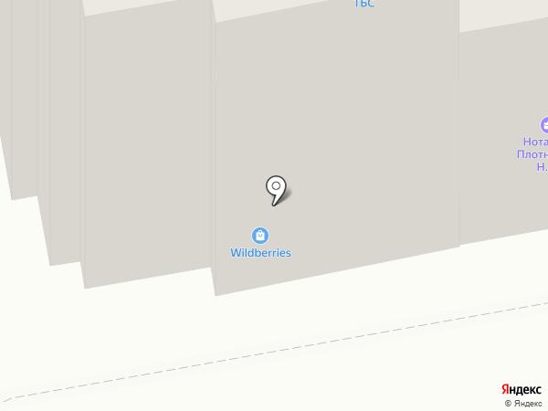 ТамбовБизнесСтрой на карте Тамбова