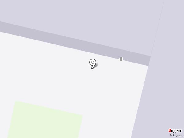 Цнинская средняя общеобразовательная школа №1 на карте Строителя
