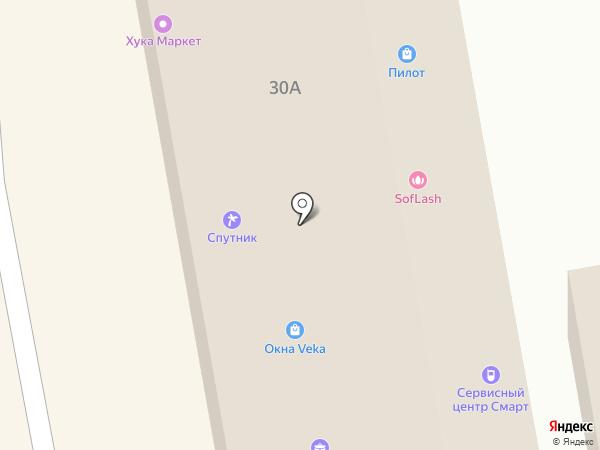 Народные окна на карте Тамбова