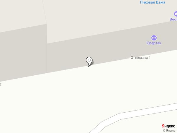 Подружка на карте Тамбова