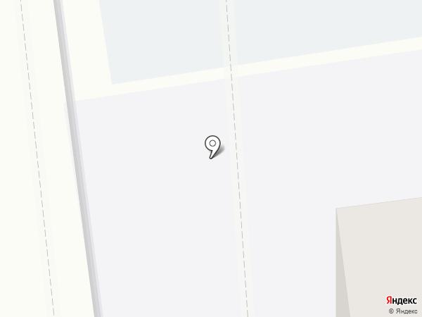 Автостоянка на карте Тамбова