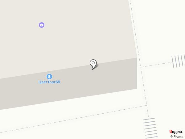 Компьютерный доктор на карте Тамбова