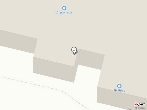 Банкомат, Росбанк, ПАО на карте Строителя