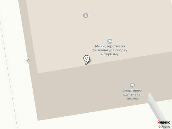 Управление по физической культуре и спорту Тамбовской области на карте Тамбова
