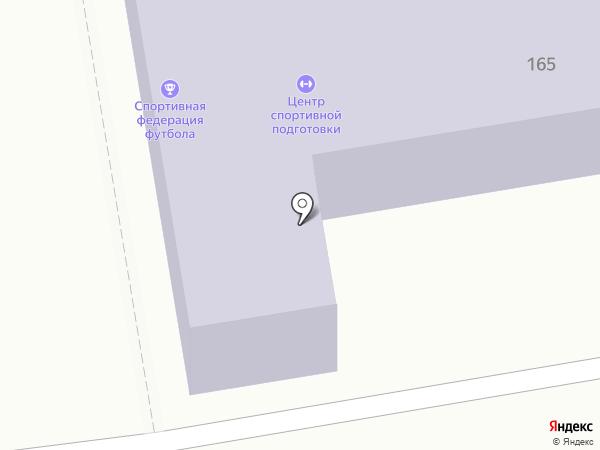 Бульдорс на карте Тамбова