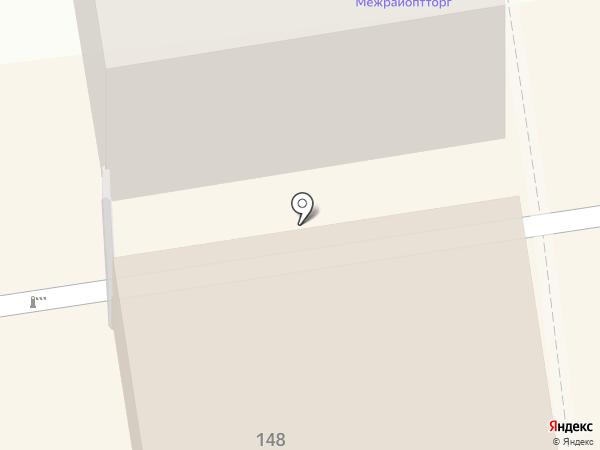 Межрайоптторг на карте Тамбова