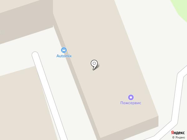 Automix на карте Тамбова